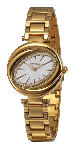 Detc028 - Reloj De Pulsera Para Mujer, Elegante, Aleación, C
