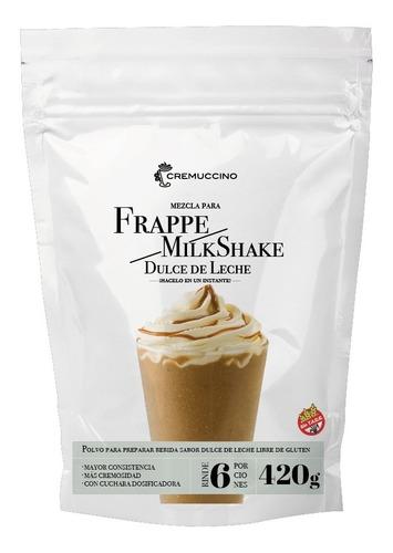 Frappe Milkshake Polvo Dulce De Leche 420gr Cremuccino