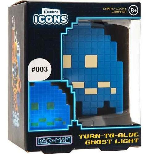 Lámpara Fantasma Azul Pacman