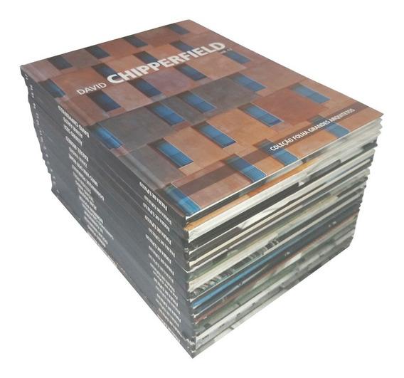 Coleção Folha Grandes Arquitetos Kit 16 Volumes