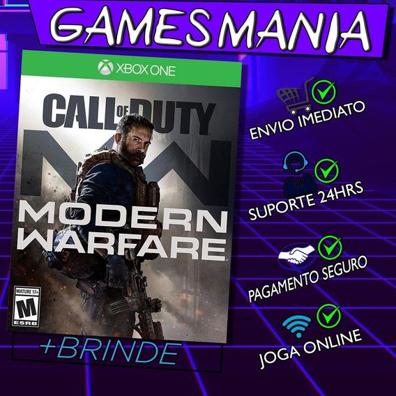 Call Of Duty Modern Warfare Xbox One + 2 Brindes