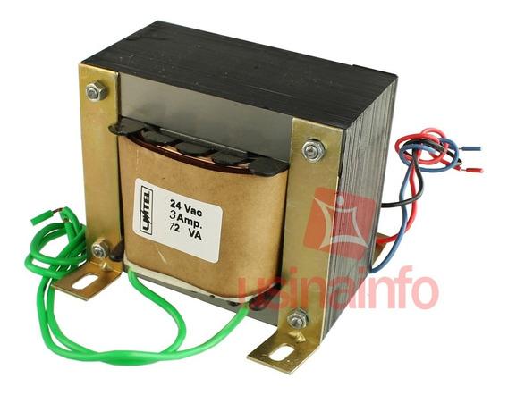 Transformador / Trafo 24v / 3a (bivolt) - Uso Geral
