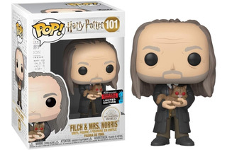 Funko Pop Harry Potter - Exclusivo - Filch 101 - Original