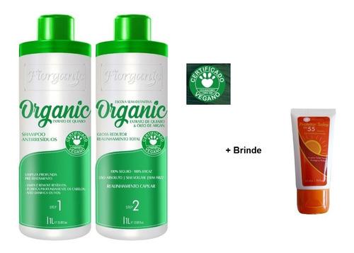 Imagem 1 de 2 de Escova 0% Formol Fiorganic - 1 L  + Brinde