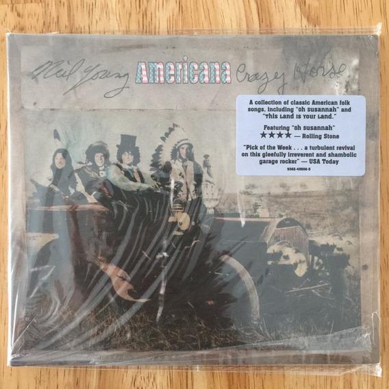 Cd Neil Young Americana (2012) 1ª Edição Digipack Importado!