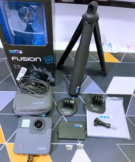 Gopro Fusion 360 | 2x Micro Sd 128gb | Na Caixa | Usado