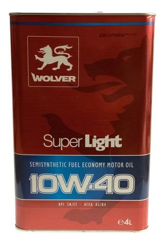10w-40 Wolver 5l Aleman