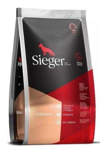 Imagen 1 de 1 de Alimento Sieger Super Premium Criadores para perro todos los tamaños en bolsa de 20kg