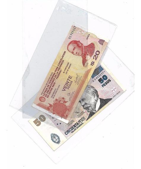 10 Sobres Para Billetes Acetato Marca Vk Palermo