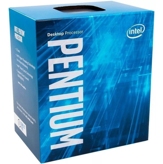 Processador Intel Pentium G4560 Kaby Lake Cache 3mb 3.5ghz