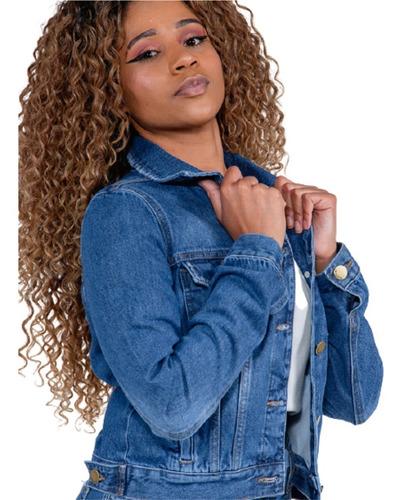 Imagem 1 de 5 de Jaqueta Jeans Feminina Revanche Mylla