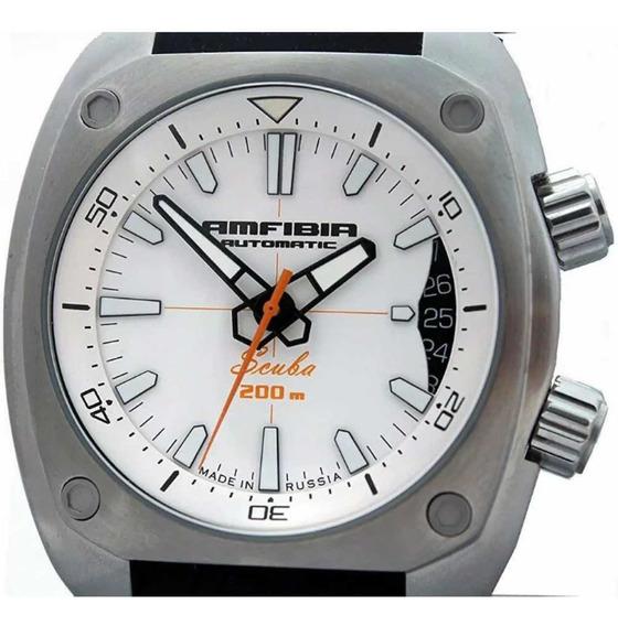 Relógio Vostok Automático Scuba 200m Mergulho 2416/ 070799
