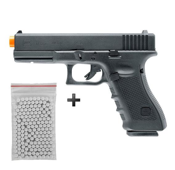 Pistola De Airsoft Green Gás Umarex Glock G17 Gen4 Blowback