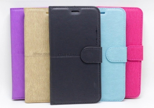 Capa Carteira Flip Case Alcatel A7 Tela 5.5 + Pelicula Vidro