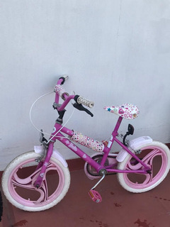 Bicicleta Barbie Para Niñas - Kid Bike