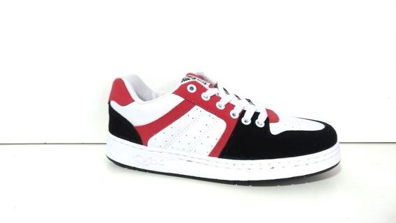 Tênis Qix 80s - Vermelho/branco/preto Original