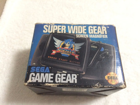 Super Wide Gear Screen Magnifer Para Game Gear Na Caixa