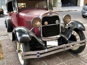 Ford A 1929 Doble Pheaton Muy Buena Conservación Funcionando