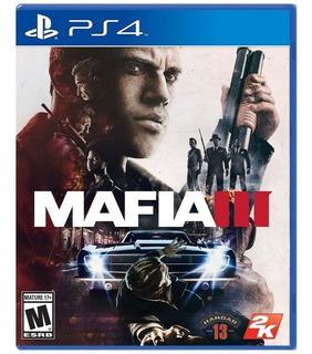 Mafia 3 Ps4 Fisico - Playstation 4 - Como Nuevo