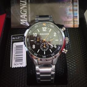 Relógio Masculino Magnum Ma34790t Cronógrafo