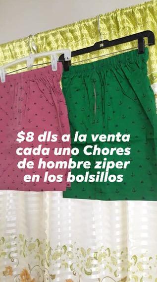 Buenos Shores De Tela Con Ziper En Los Bolsillos Laterales