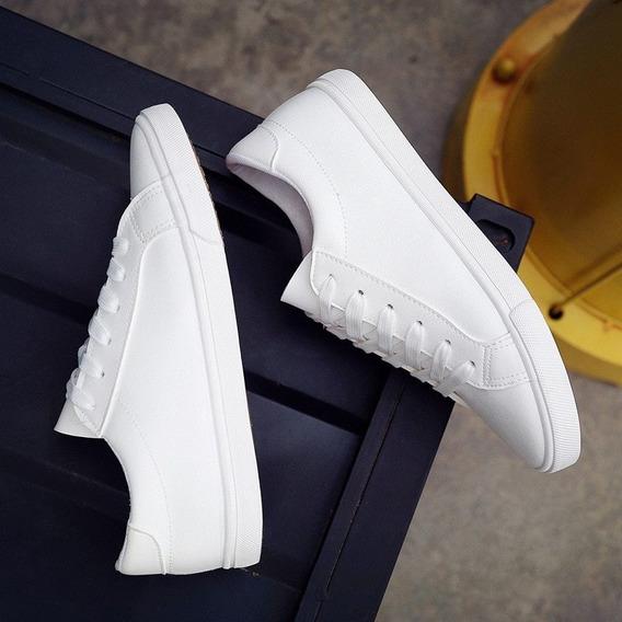 Zapatillas Para Mujer Tenis Mujer Urbanos Casuales Color Bla