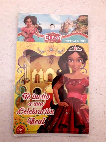 Tarjetas De Cumpleaños Princesas Avalor Bella Frozen Sofia