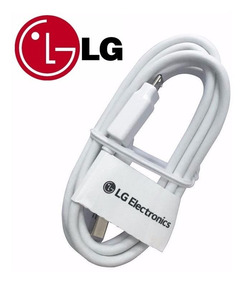 Cable Turbo Original Lg Usb Carga Datos Power Q6 Q10 Stylus