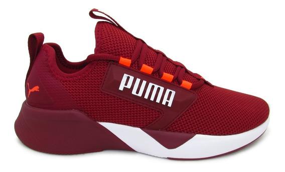 Tenis Puma Retaliate 192340 06 Rhubarb-white-ngry Red Softfo