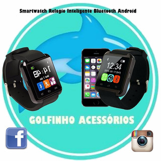 Smartwatch Relogio Inteligente Bluetooth Android