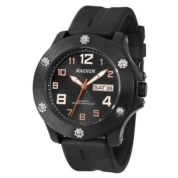 Relógio Magnum Masculino Preto Ma33157p
