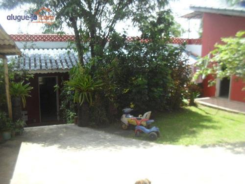 Chácara Com 2 Dormitórios À Venda, 1245 M² - Chácaras Casemiro - Suzano/sp - Ch0181