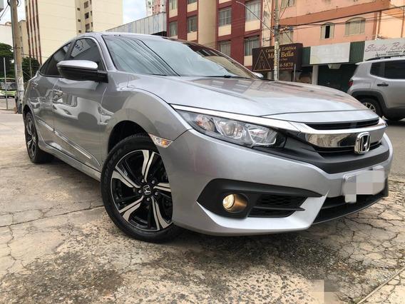 Honda Civic Ex 2019 Cinza