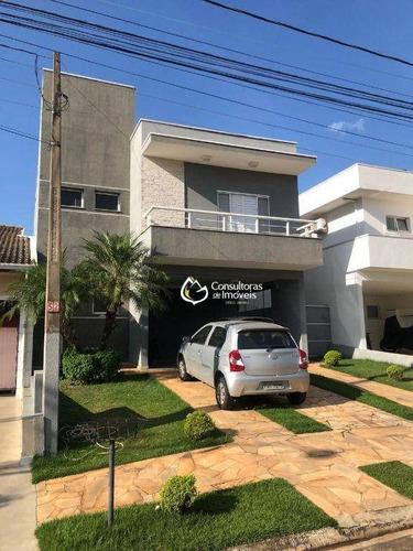 Casa Com Piscina E 3 Dormitórios À Venda, 207 M² Por R$ 890.000 - Condomínio Campos Do Conde I - Paulínia/sp - Ca1674