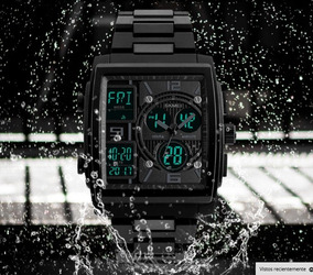 Reloj Hombre Militar Skmei 1274 Sumergible Digital Analogo