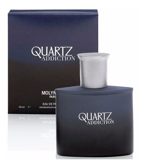 Perfume Quartz Addiction Homme Eau Parfum 50ml - Selo Adipec