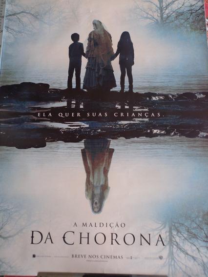 Poster:a Maldição Da Chorona:terror:cinema:94cm X 64cm