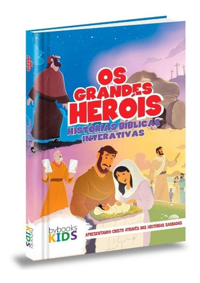 Bíblia Os Grandes Heróis | Histórias Bíblicas Interativas Bv