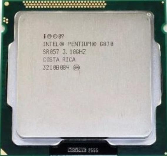 Processador Intel Soquete 1155 G870 / 3.1 Ghz / Lga1155