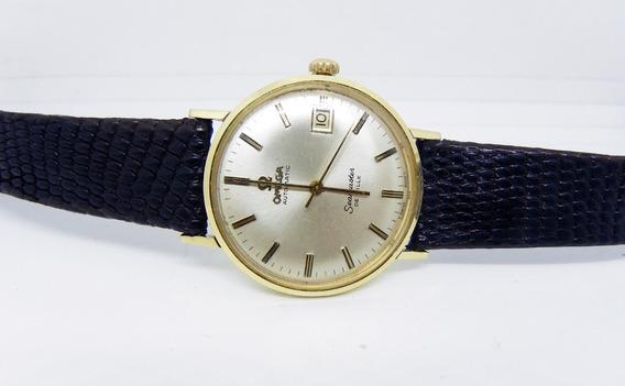 Reloj Omega Deville 14 Kilates Fechador.