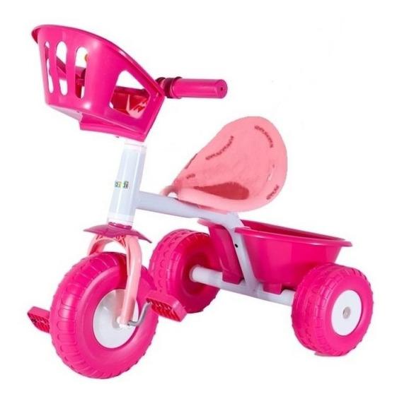 Triciclo Rondi Blue Metal - Pink Metal Pata Pata Nena