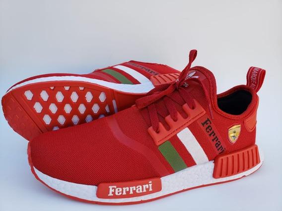 Tênis adidas Nmd R1 Ferrari (leve Par De Meias Grátis)