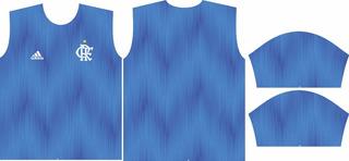 Arte Camisa Flamengo Azul 2019
