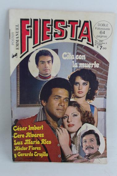 L2566 Fotonovela Fiesta Numero 294 Septiembre 1980