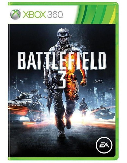 Battlefield 3 Xbox 360 Mídia Física Pronta Entrega