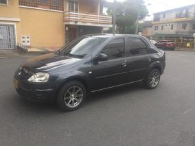 Renault Logan 2012 Gris Oscuro Y Full Equipo!!!
