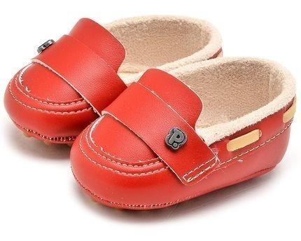 Sandália Infantil Meninos Pimpolho Vermelho