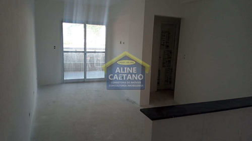Apartamento Com 2 Dorms, Canto Do Forte, Praia Grande - R$ 397 Mil, Cod: Act1453 - Vact1453