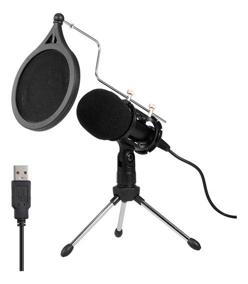 Kit De Microfone De Gravação De Microfone De Condensador U