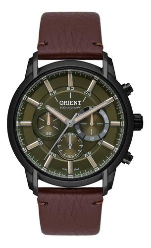 Relógio Orient Masculino Cronógrafo Mpscc009 F1nx Preto Verd